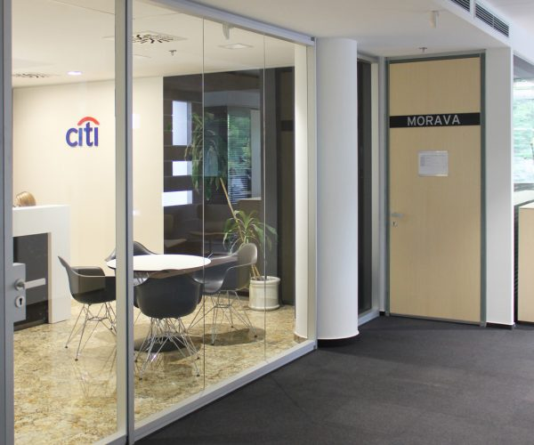 Citibank Bratislava Renovace interiéru