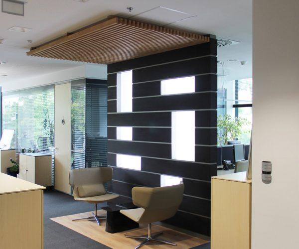 Renovace interiéru stávajících kanceláří bratislavské pobočky Citibank