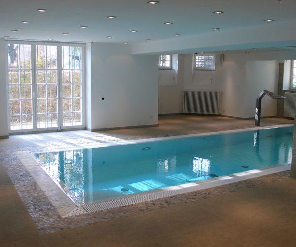 Rekonstrukce rodinného domu na Ořechovce - bazén