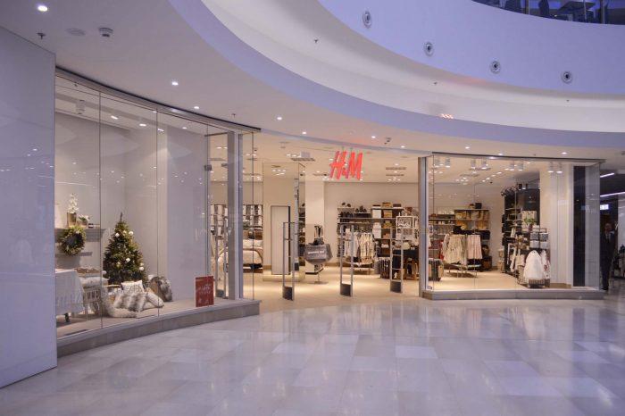 Rozšíření a přestavba obchodní jednotky H&M v Nákupní galerii Myslbek