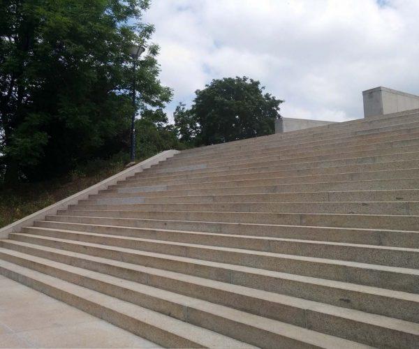 Rekonstrukce schody Vítkov