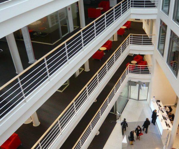 Rekonstrukce bankovního domu UniCredit Bank – atrium
